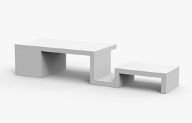 Thermorossi optional living scuba bench